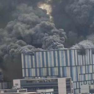 【動画】中国、今度はファーウェイの実験施設で大規模火災が発生!これはヤバい!