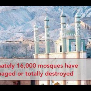 【中国】ウイグル弾圧さらに!新疆で当局が16000のモスクを取り壊し!衛星画像で確認