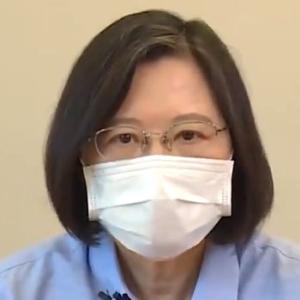 【動画】台湾・蔡英文総統「東京オリンピック開会式、日本にエールを!一緒に頑張りましょう」