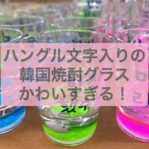 韓国でつい買ってしまう焼酎グラスが友達飲みで盛り上がる!
