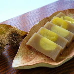 栗の和菓子が発売中です