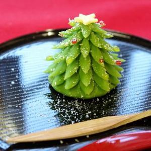 12月の上生菓子「クリスマスツリー」