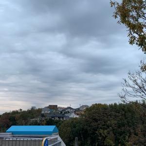 曇り空 後雨が