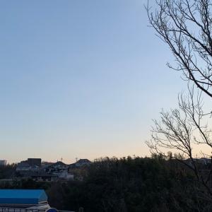 晴れました 良い天気