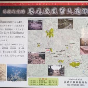 【山城跡を訪ねるシリーズ】(その1)勝尾城・山城最高!
