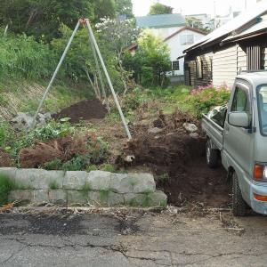 DIYで外構工事 - 駐車場編 Part2