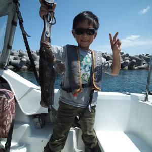 カレイ釣りとボートロック
