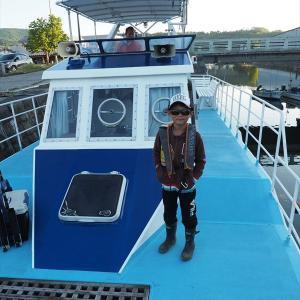 小樽沖でヒラメ釣り