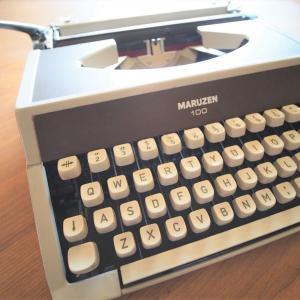 昭和レトロなタイプライターの使い道