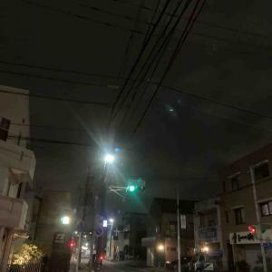 7月10日夜ラン7㎞志賀公園南