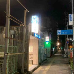 7月15日夜ラン12㎞本陣駅
