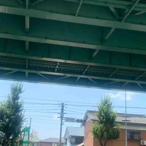 7月19日朝ラン20㎞岩塚本通4丁目