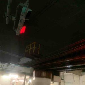 9月16日夜ラン17.5㎞山王駅