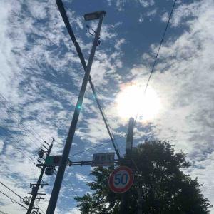 6月20日朝ラン18㎞藤巻町交差点