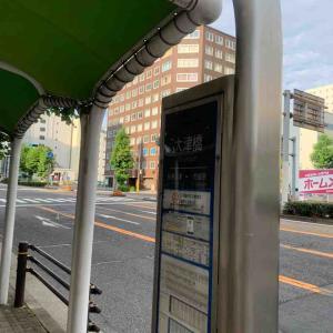 6月27日朝ラン5㎞大津橋バス停