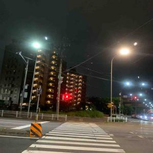 6月28日夜ラン5㎞志賀橋