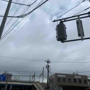 7月1日朝ラン17㎞栄生駅