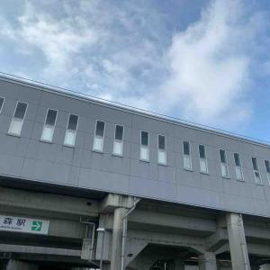 7月15日朝ラン19㎞近鉄烏森駅