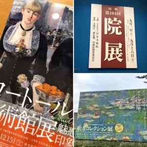 上野で絵画鑑賞