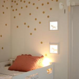 娘の部屋の壁 &お買い物レポ