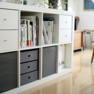 IKEAでリビング収納をチェンジ & ポチレポその2