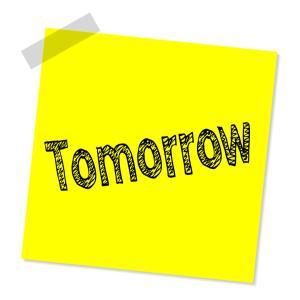 明日になったら