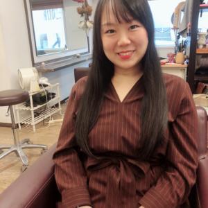 2年ぶりのヘアドネーション2年ぶりの美容室♪