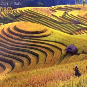 サパ 北ベトナム、中国国境 雲南省近くでトレッキング。