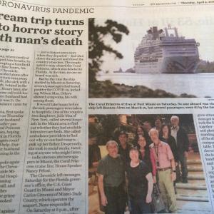 人生最後の楽しみだった、クルーズ船の恐怖。