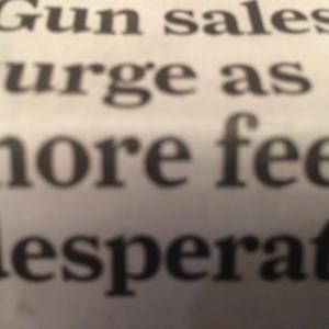 コロナで銃が売れまくっているアメリカ。