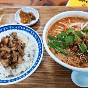 「台風飯店」谷町六丁目で台風の通る道のりの国の料理を(`・ω・´)フフフ