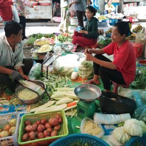 カンボジアの日常をご紹介