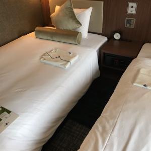 『ホテルユニゾ』に宿泊してます。