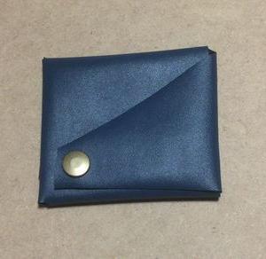 一枚革の財布
