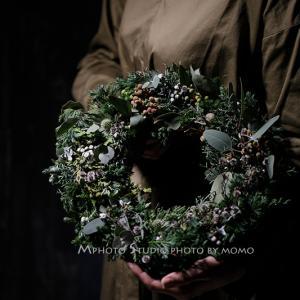 Mphoto Styleでクリスマスリース作品を撮る