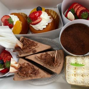 ケーキと病院
