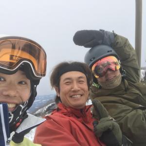 プロアングラーとレジャースキー♪  ~滑走16日目~