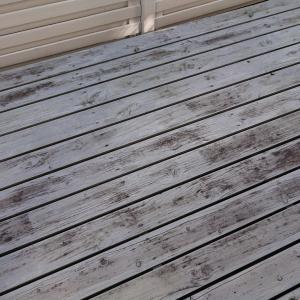 No.1289 ■ウッドデッキ&バルコニーの塗装