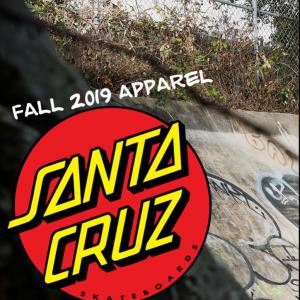 SANTA CRUZ「FALL 2019」APPAREL ①