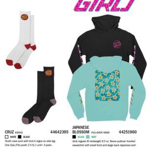 SANTA CRUZ「FALL 2019」GIRLS / KIDS / INFANTS