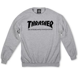 THRASHER「Skate Mag Crewneck」