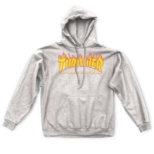 THRASHER「Flame Logo Hood」