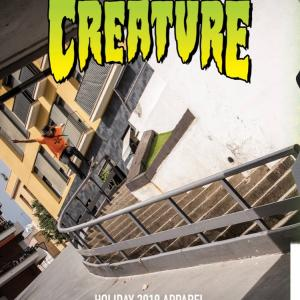 CREATURE「HOLIDAY 2019」APPAREL ①