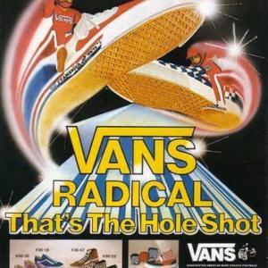 VANS「'80s advertisement」