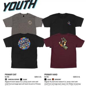 SANTA CRUZ「SPRING 2020」 YOUTH ①