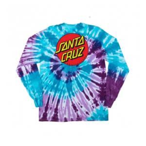 SANTA CRUZ「Classic Dot L/S T-Shirt」③
