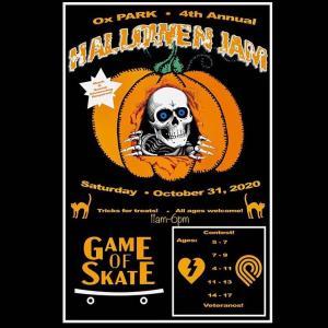 "GAME OF SKATE ""HALLOWEN JAM"" OX PARK Oct.31,2020"