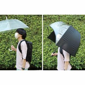 リュック 傘