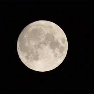 涼しくなった中秋の名月