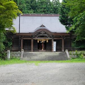 稲田神社で出雲蕎麦